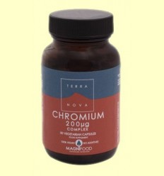 Crom 200 mg Complex - Terra Nova - 50 càpsules