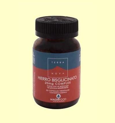 Ferro Bisglicinato 20 mg Complex - Terra Nova - 50 càpsules