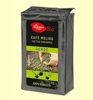 Cafè Verd 100% Robusta Mòlt Bio - El Granero - 400 g