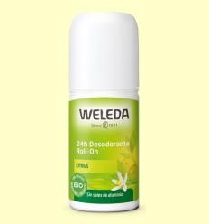 Desodorant Roll-on Citrus 24h - Weleda - 50 ml