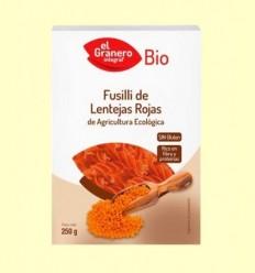 Fusilli de Llenties Rojas Bio - El Granero - 250 g
