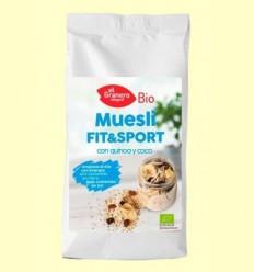 Muesli Fit & Sport amb Quinoa i Coco Bio - El Granero - 500 g
