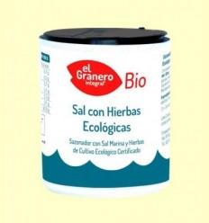 Sal Marina amb Herbes Bio - El Granero - 200 g