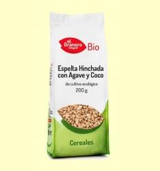 Blat Espelta Inflat amb Atzavara i Coco Bio - El Granero - 200 g