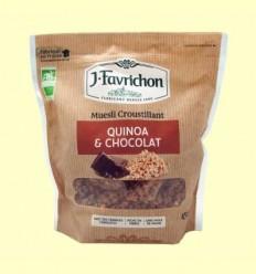 Muesli Crunchy Quinoa i Xocolata - Favrichon - 450 g