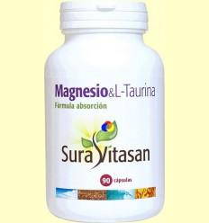 Magnesi - L-Taurina - Sura Vitasan - 90 càpsules