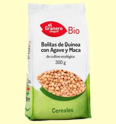 Boletes de Quinoa amb Atzavara i Maca Bio - El Granero - 300 g