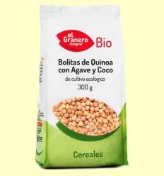 Boletes de Quinoa amb Atzavara i Coco Bio - El Granero - 300 g