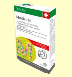 Multivital - Dr. Dünner - 40 comprimits