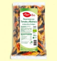 Macarrons amb Tomàquet i Alfàbrega Bio - El Granero - 500 grams