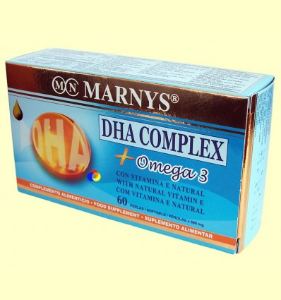 DHA Complex + Omega 3 - Marnys - 60 perles