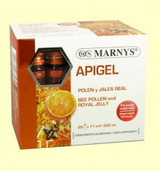 Apigel - Pol·len i Gelea Reial - Marnys - 20 ampolles