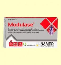 Modulase - Inflamacions - Laboratorio Cobas - 20 comprimits