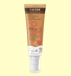 Esprai protecció solar SPF50 - Cattier - 125 ml