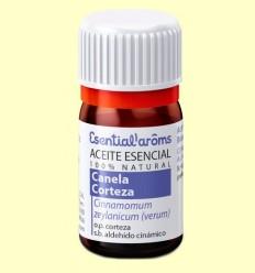 Oli Essencial Canela escorça - Esential Aroms - 5 ml