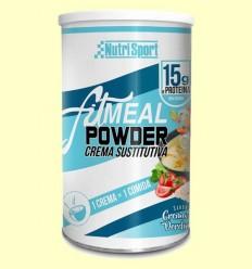 Fitmeal Powder Crema Verdures - NutriSport - 330 grams