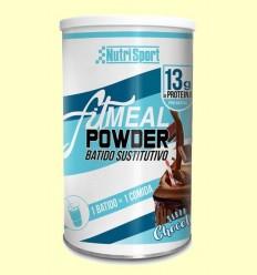 Fitmeal Powder Xocolata - NutriSport - 300 grams