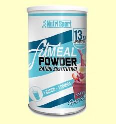 Fitmeal Powder Maduixa i Plàtan - NutriSport - 300 grams