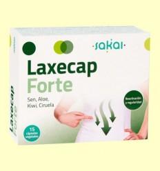 Laxecap Forte - Regulador intestinal - Sakai - 15 càpsules
