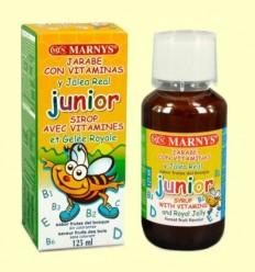 Xarop Junior Multivitamínic amb Gelea Reial - Marnys - 125 ml
