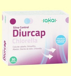 Sline Control Diurcap Chlorella - Sakai - 30 càpsules