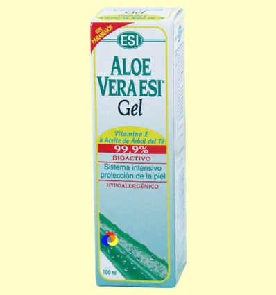 Gel d'Aloe Vera amb Vitamina E i arbre del Te - Laboratoris ESI - 100 ml