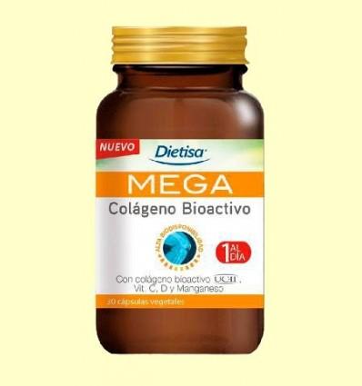 Mega Col·lagen bioactiu - Dietisa - 30 càpsules