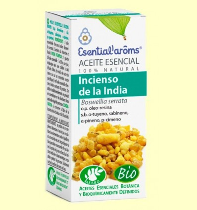 Oli Essencial Encens de l'Índia - Esential Aroms - 5 ml