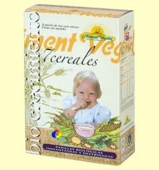 Papilla de 7 cereals amb mel Bio - Biocrecimiento - 400 grams