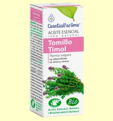 Oli Essencial Farigola Timol Bio - Esential Aroms - 10 ml