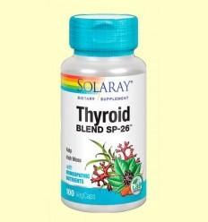 Thyroid Blend - Tiroide - Solaray - 100 càpsules