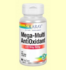 Mega Antioxidant Very Berry - Solaray - 60 càpsules *