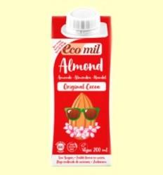 Llet d'Ametlla Original Cacau Bio - EcoMil - 200 ml