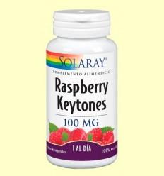 Raspberry - Gerd - Ketones 100 mg - Control de l'Pes - Solaray - 30 càpsules