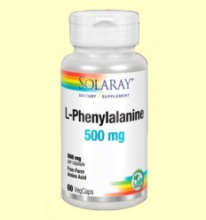 L-Phenylalanine 500 mg - Solaray - 60 càpsules