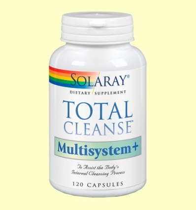 Total cleans Multisystem - Solaray - 120 càpsules