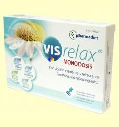 Visrelax - Gotes oculars - Pharmadiet - 10 envasos