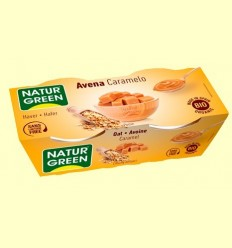 Civada Caramel Bio - NaturGreen - 2 x 125 grams