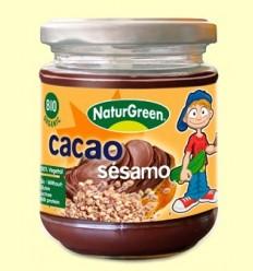Crema Sèsam Cacau Bio - NaturGreen - 200 grams