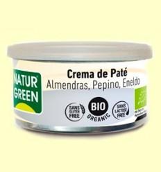 Crema Paté Ametlla Cogombre Anet Bio - NaturGreen - 125 grams