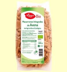 Macarrons de Civada Integral Bio - El Granero - 500 grams