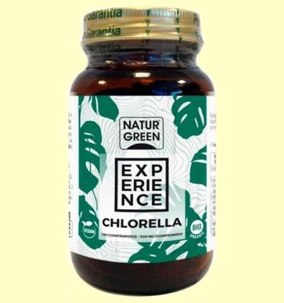 Chlorella Comprimits Bio - NaturGreen - 180 comprimits