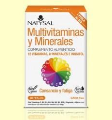 Multivitaminas i minerals - Natysal - 30 perles