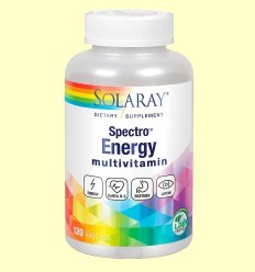 Multivitaminas Spectro Energy - Solaray - 120 càpsules