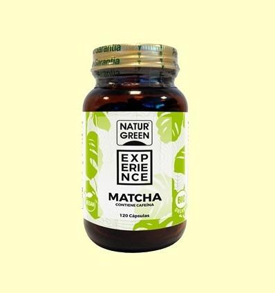 Experience Matcha Bio - NaturGreen - 120 càpsules