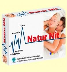 Natur Nit - Melatonina - Naturnit - Espadiet - 30 càpsules