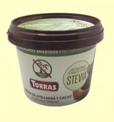 Crema de Avellanes i Cacau amb Stevia - Torras - 200 grams