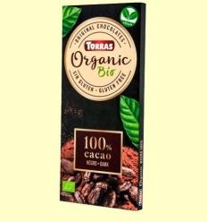 Xocolata Negre 100% - Torras - 100 grams