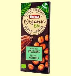 Xocolata Negre 70% Avellanes - Torras - 100 grams