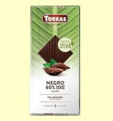 Xocolata Stevia Negre - Torras - 100 grams